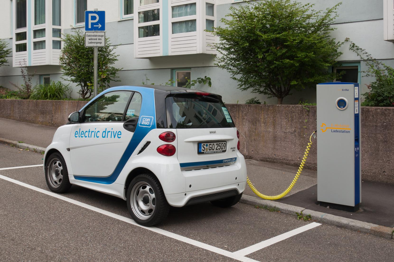 Car2go Charging Station Stuttgart 2017 01