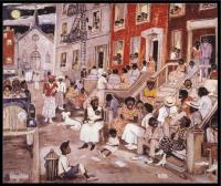 Painting Midsummer in Harlem by Palmer Heyden