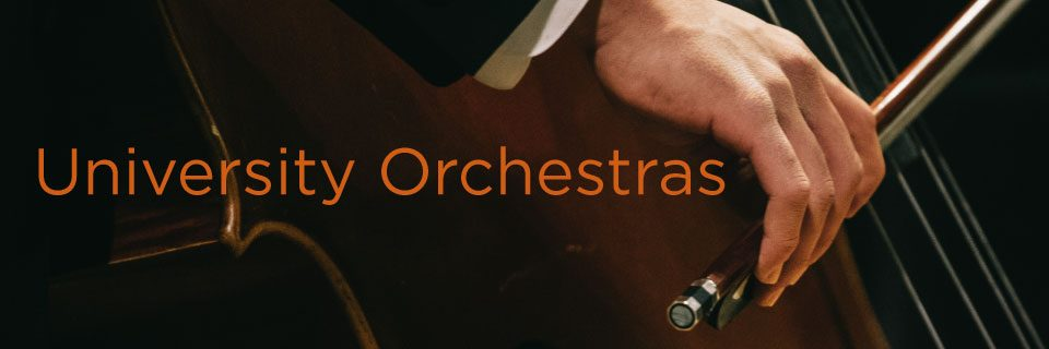 University Orchestras | Butler School of Music | The University of Texas at Austin