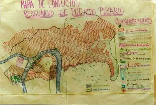 Environmental conflict mapping, Valle del Cauca, Colombia. Photo courtesy Helena Andrade.