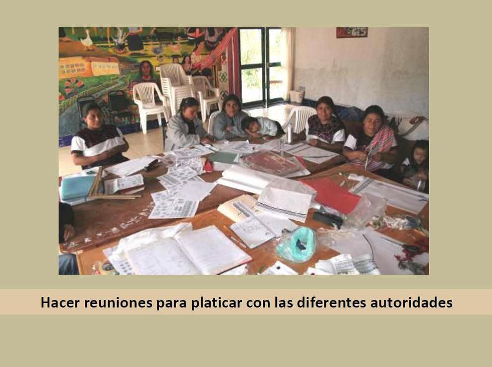 Community planning workshop led by the Maya women's Kinal Antsetik, Chiapas, Mexico. Photo courtesy Micaela Hernández Meza and Celerina Ruiz Núñez.