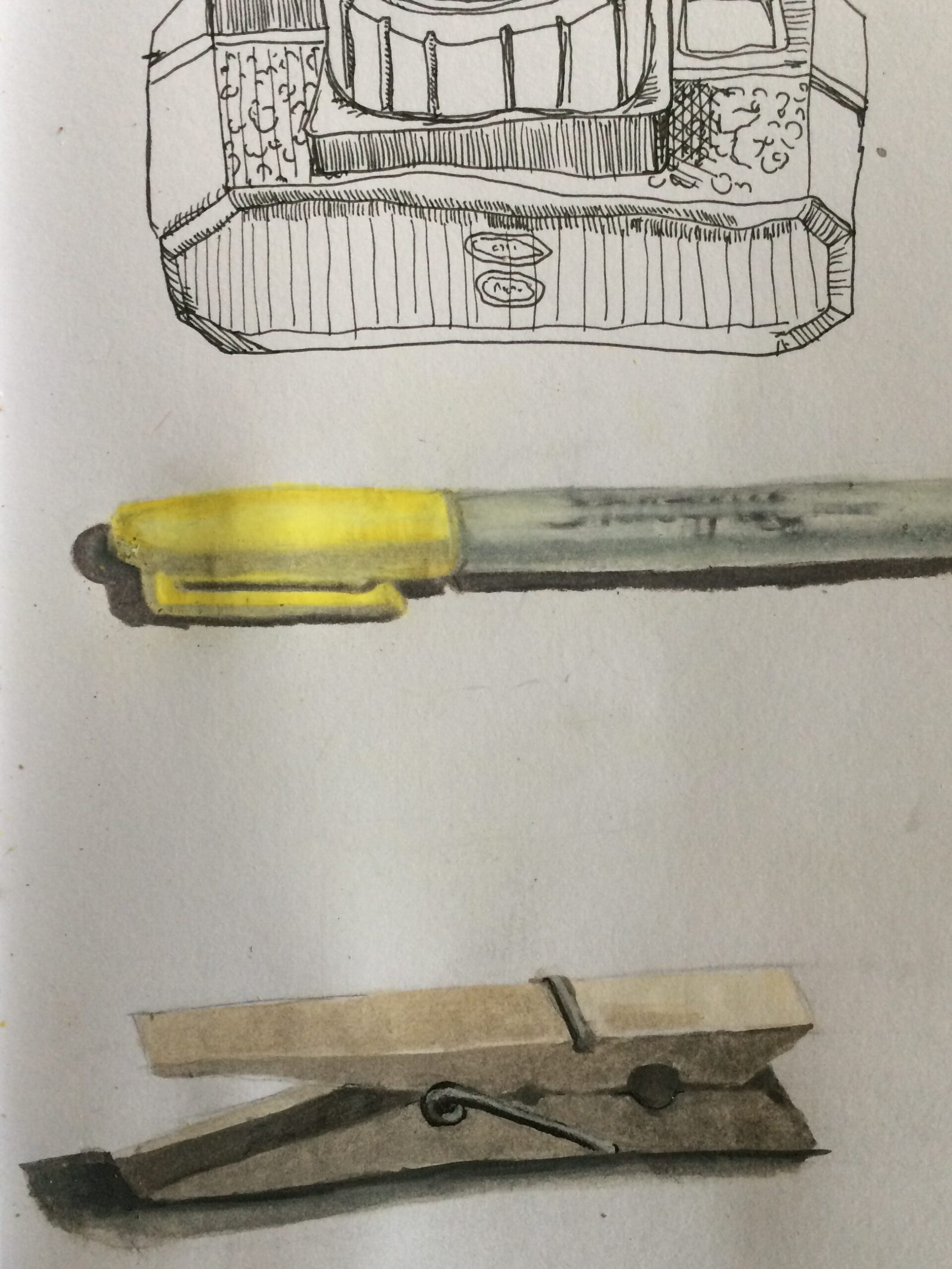Object sketch by Zip 2020 student