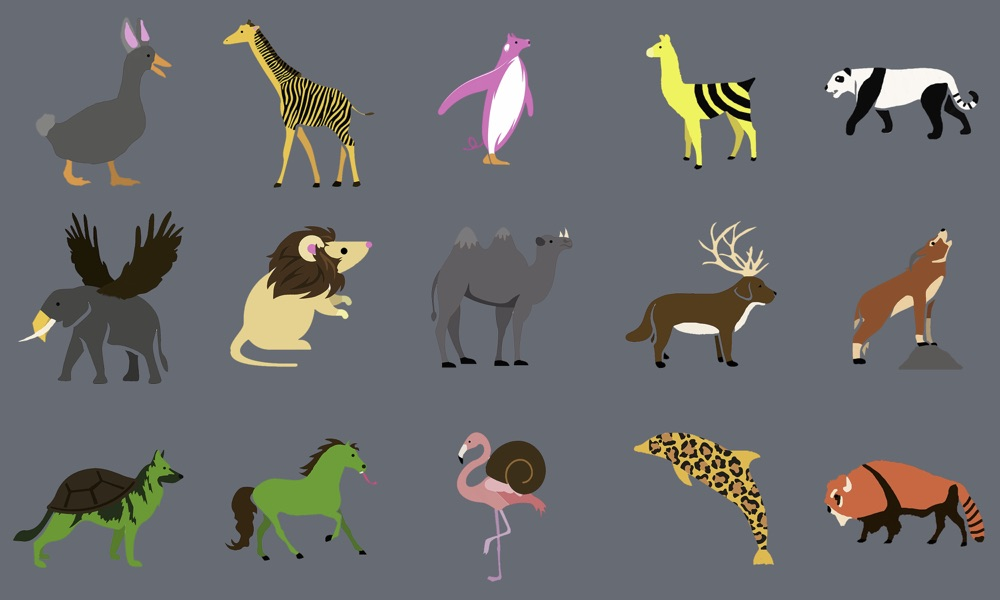 Hybrid Animals by Intensive 2020 student