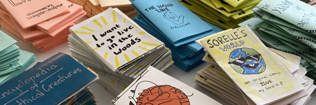 Student Zines from Intensive 2020.