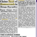 Newspaper clipping from The Capital Times, Wisconsin, November 18, 1944