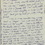 Page 2 of a letter from Claude McKay to William A. Bradley, dated February 2, 1928.
