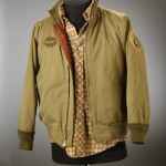 "Costume worn by Robert De Niro in ""Taxi Driver."" Schrader donated the costume in 2006 to join Robert De Niro's archive at the Ransom Center."