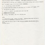 """Preliminary shot pages and notes for """"The Tell,"""" which became House of Games (1987). © David Mamet."""