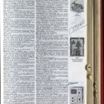 """Page from Wallace's """"American Heritage Dictionary,"""" in which he frequently circled or marked words."""