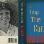 "Jacket cover design for ""The Things They Carried."""
