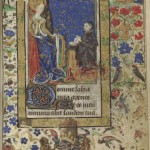 The Belleville Book of Hours (mid-15th-century), once belonged to Marie de Belleville, daughter of Charles VI of France and is the finest illuminated manuscript in the collection. Books of Hours were used for private devotional purposes.