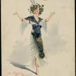 Attilio Comelli (1858-1925) Costume design for Jugglers in Aladdin, 1909