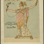 Sers (active 1878-1924) Costume design for The Follies: Pélissier's Potted Pageant, 1910 H. G. Pélissier as Helen of Troy