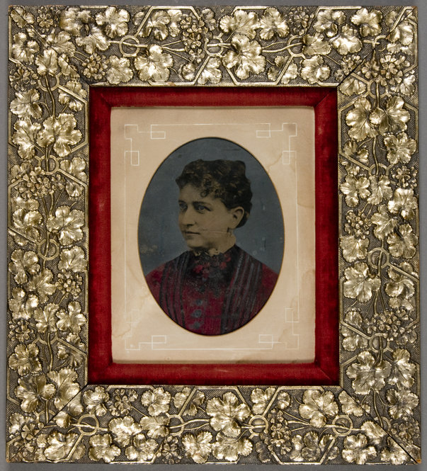 Collection showcases hand-colored tintypes in period frames