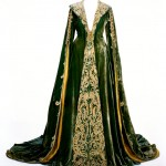 """Green Velvet Dressing Gown worn by Vivien Leigh as Scarlett O'Hara in """"Gone With The Wind."""""""