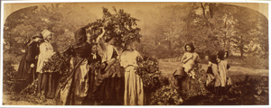 After: Henry Peach Robinson, 'Bringing Home the May,' ca. 1862-1863. Albumen print.