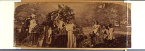 Before: Henry Peach Robinson, 'Bringing Home the May,' ca. 1862-1863. Albumen print.