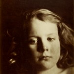 "Julia Margaret Cameron, ""Study of Child's Head,"" ca. 1866. Albumen print. 34.0 x 26.4 cm."