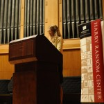 """Elizabeth Crane reads an excerpt from Wallace's novel """"Infinite Jest."""""""