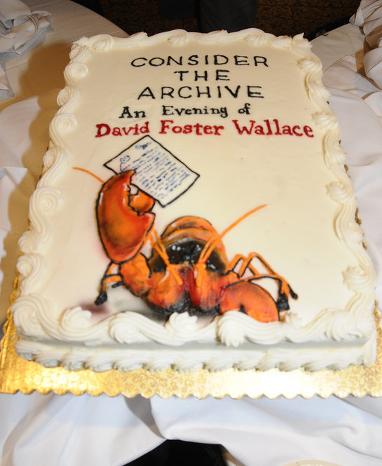 """View slideshow of images from """"Consider the Archive: An Evening of David Foster Wallace"""""""