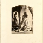"Lady Hawarden Clementina, ""At the Window,"" 1864. Albumen print. 20.5 x 15.3 cm."