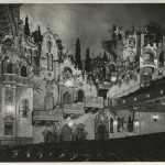 Interior wall of the Majestic Theatre San Antonio. Hoblitzelle-Interstate Collection.