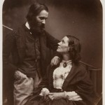 Lewis Carroll (Rev. Charles Lutwidge Dodgson) (English, 1832–1898). Alexander Munro and his wife, Mary Carruthers, 1863.