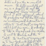 "Lehman's handwritten thoughts in response to director MacKendrick's notes concerning the screenplay as of August 1956. Lehman's two pages provide insight about why he had to leave the ""Sweet Smell of Success"" project on doctor's orders and take ""a long and work-free vacation."" Lehman ends with ""I loved Tahiti."""