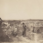 "Roger Fenton. ""A Quiet Day in the Mortar Valley."""