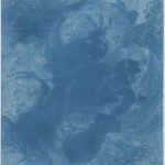 "Sir John Herschel. ""A Scene in Italy,"" 1839. Cyanotype made from engraving."