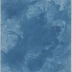 "Sir John Herschel. ""A Scene in Italy,"" 1839. Cyanotype made from engraving."