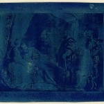 "Sir John Herschel. ""The Royal Prisoner,"" 1839. Cyanotype."