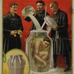 "Poster promoting ""Houdini's Death-Defying Mystery: Escape from a galvanized iron can filled with water and secured by massive locks."""