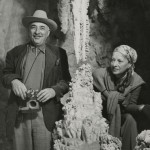 Photo of Alfred. A and Blanche Knopf on vacation.