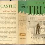 "Franz Kafka. ""The Trial,"" dust jacket, Definitive Edition, 1934. Alfred A. Knopf."