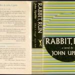 "John Updike. ""Rabbit, Run,"" dust jacket, 1960. Alfred A. Knopf."