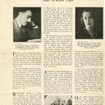 """Newspaper article """"By their Books Shall Ye Know Them."""" Printed in a Westchester County newspaper, 1928."""