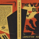 """Langston Hughes. """"The Weary Blues."""" Alfred. A. Knopf."""