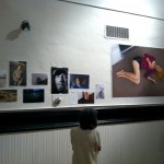 """The """"Postcards From America"""" project ended with a pop-up exhibition and reception at the Starline Social Club in Oakland, California, on May 26, 2011. Photo by David Coleman."""