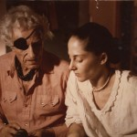 Nicholas and Susan Ray, ca. 1975. Unidentified photographer.