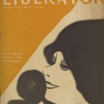 Cover of the April 1918 edition of The Liberator, which includes Elmer Rice's one-act play A Diadem of Snow. Rice submitted the play with his original name, Elmer L. Reizenstein.