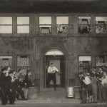 "Image from Elmer Rice's Pulitzer Prize-winning play ""Street Scene."""