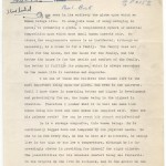 Galley of an article Pearl S. Buck submitted to Commentary.
