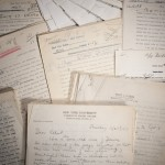 Assorted galleys and correspondence from the Commentary archive. Photo by Pete Smith.