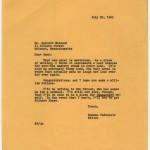 Letter from Norman Podhoretz to Bernard Malamud.
