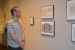 Canadian makes semi-annual pilgrimage  to the Ransom Center's galleries