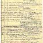 """Paul Schrader's outline for """"Raging Bull"""" (1980)."""