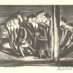 "White Collar Boys. ca. 1935–1936. 11"" x 14 ¾"""