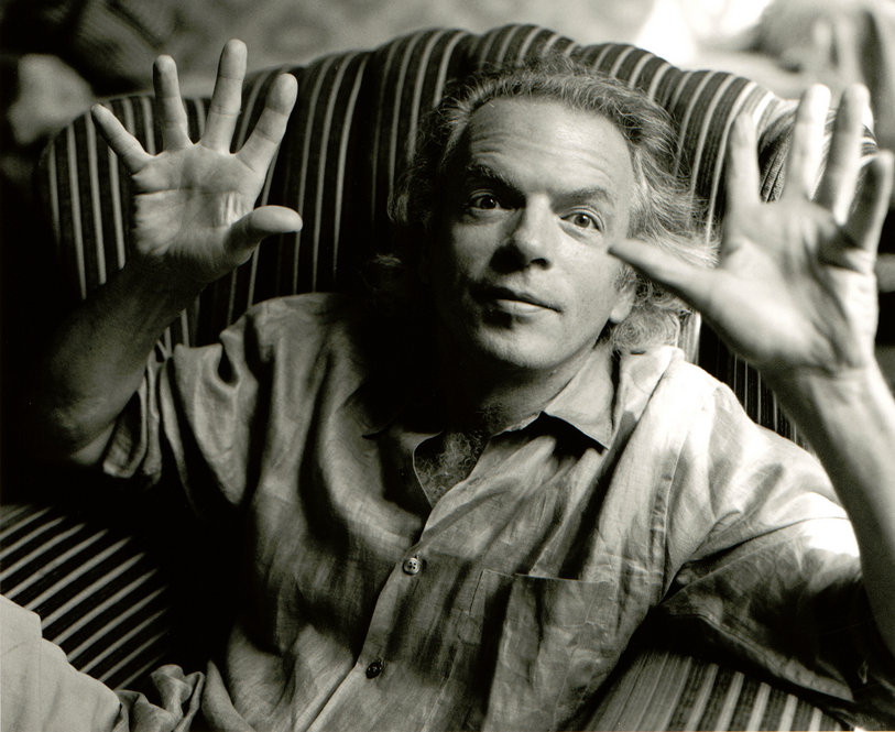 An iconic photographic moment with Spalding Gray