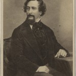 Undated photograph of Charles Dickens. Unknown photographer.